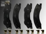 Ceramic Rear Brake Pads GMC Savana 3500 2009-2018 With Dual Rear Wheels