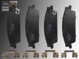 Ceramic Rear Brake Pads Chevrolet Suburban 2015-2020