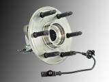 1x Front Wheel Bearing and Hub Assembly incl. ABS Sensor GMC Yukon, Yukon XL 1500 4WD 2007-2014 All Wheel Drive