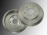 2x Bremstrommel, Trommelbremse hinten Pontiac G5 2009-2010 5-Loch-Trommel