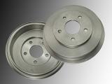 2x Bremstrommel, Trommelbremse hinten Chevrolet Cobalt 2009-2010 5-Loch-Trommel