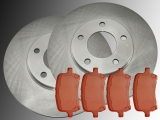 Front Brake Rotors and Front Brake Pads Chevrolet HHR 2006-2011