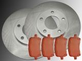2 Bremsscheiben Satz Bremsklötze vorne Chevrolet HHR 2.2L 2.4L 2006-2011