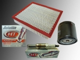 1 x Oil filter, 1 x Air Filter 8 x Spark Plugs Autolite Platinum Ford Mustang GT 4.6 V8   2005 - 2007