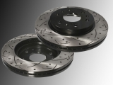 Slotted and Drilled Front Brake Rotors Chevrolet Avalanche 2007-2013
