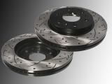 2 Geschlitzte und gelochte Bremsscheiben vorne GMC Yukon, Yukon XL, Yukon XL 1500 2007-2020