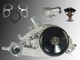 Wasserpumpe inkl. Dichtsatz und Thermostat Cadillac Escalade V8 6.0L, 6.2L 2007-2014