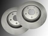 Front Brake Rotors Dodge Durango 2011-2020 330mm Outside Diameter