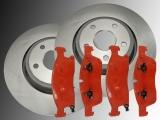 2 Bremsscheiben Bremsbeläge Bremsklötze vorne Dodge Durango 2011-2020  330mm Durchmesser