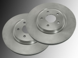 2 Front Brake Rotors Ford Edge 2007-2014