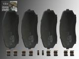Keramik Bremsbeläge Bremsklötze vorne Ford Edge 2007-2014