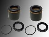 2x Disc Brake Caliper Piston and Caliper Repair Kit Chevrolet Tahoe 2000-2006