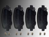 Rear Brake Pads Set with Hardware Chrysler 200 2015-2017