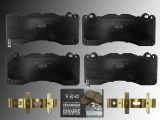 Ceramic Front Brake Pads Ford Mustang V8 2015-2020 with Brembo