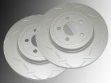 2 Bremsscheiben 330mm vorne geschlitzt Volkswagen Routan 2012-2014