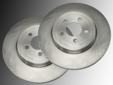 2 Front Brake Rotors Chrysler LHS 1994-1997 without Turbo
