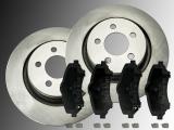 2 Bremsscheiben 332mm und Keramik Bremsklötze vorne Dodge Nitro 2007-2012