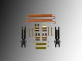 Parking Brake Hardware Kit incl. Adjuster Jeep Cherokee KK 2008-2012