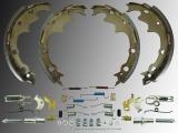 Rear Drum Brake Shoe Kit Incl. Hardware Jeep Wrangler YJ 1990-1995