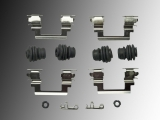 Front Disc Brake Hardware Kit incl. Caliper Pin Bushings Jeep Compass 2007-2016