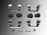 Front Disc Brake Hardware Kit incl. Caliper Pin Bushings Jeep Patriot 2007-2017