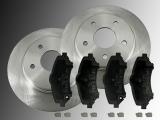 2 Bremsscheiben 302mm Keramik Bremsklötze vorne Dodge Journey 2008-2011