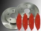 2x Bremsscheiben Bremsklötze vorne Chrysler Pacifica 2004-2009