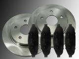 Front Brake Rotors Ceramic Front Brake Pads Chrysler Pacifica 2004 -2009