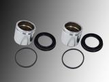 2x Disc Brake Caliper Piston and Caliper Repair Kit Pontiac Firebird 1998-2002