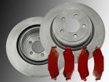 2 Bremsscheiben Bremsklötze, Bremsbeläge hinten Chevrolet Blazer 4WD 1997-2005
