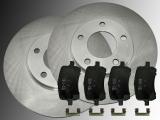 2 Bremsscheiben 276mm Keramik Bremsklötze vorne Chevrolet HHR 2.2L 2.4L 2006-2011