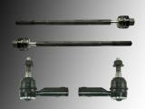 2x Tie Rod End Outer 2x Tie Rod Inner Pontiac Trans Sport 1990-1991
