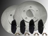 Rear Brake Rotors Ceramic Rear Brake Pads Ford Mustang 2005-2014