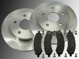 2x Bremsscheiben und Bremsklötze vorne Dodge Durango 2007-2009
