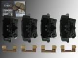 Ceramic Rear Brake Pads Dodge Challenger 2009-2020