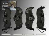 Ceramic Rear Brake Pads Jeep Commander XK 2005-2010