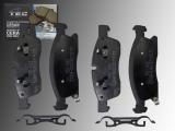 Keramik Bremsklötze vorne Jeep Grand Cherokee WK2 2011-2020 für 350mm Bremsscheiben