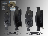 Ceramic Front Brake Pads Dodge Durango 2011-2020