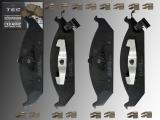 Ceramic Front Brake Pads Chrysler Stratus 1995-2000