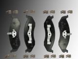 Ceramic Front Brake Pads Jeep Wrangler TJ 1996-2006