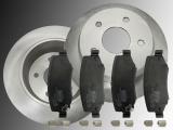 2 Bremsscheiben Keramik Bremsklötze hinten Jeep Cherokee KK 2008-2012