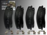 Keramik Bremsklötze Bremsbeläge vorne Dodge Charger 2006-2020 für 320mm Bremsscheibe