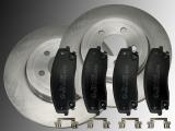 2 Bremsscheiben Keramik Bremsklötze vorne Dodge Magnum 2005-2008 320mm Bremsscheibe