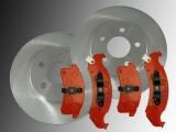 Front Brake Rotors Front Brake Pads Pontiac Firebird 1994-1997
