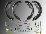 Rear Drum Brake Shoe incl. Hardware Kit Jeep Wrangler TJ  2001-2006