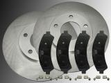 2 Bremsscheiben Keramik Bremsklötze vorne Chevrolet Blazer 1998-2005