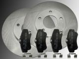 2 Bremsscheiben Keramik Bremsklötze vorne Chrysler PT Cruiser 2000 - 2010