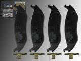 Ceramic Rear Brake Pads Chrysler Aspen 2007-2009