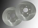2 Front Brake Rotors Chrysler Stratus 1995-2000 260mm Outside Diameter