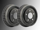 2x Rear Brake Drum Pontiac Trans Sport 1990-1999